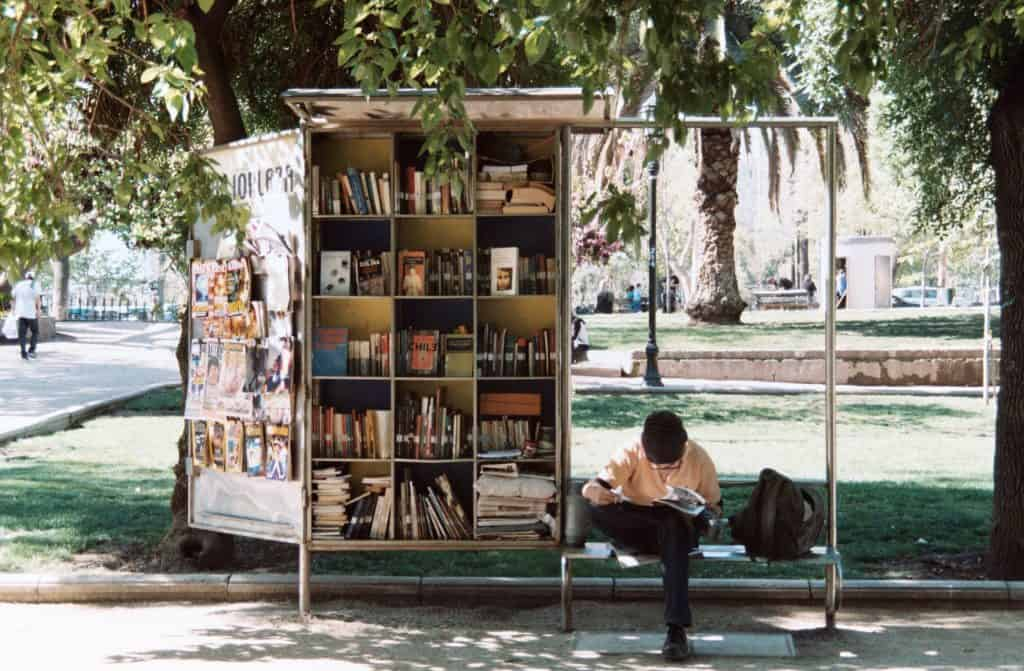 Giving people access to books, information, and other resources boosts economic vitality. | Photo by Laëtitia Buscaylet on Unsplash
